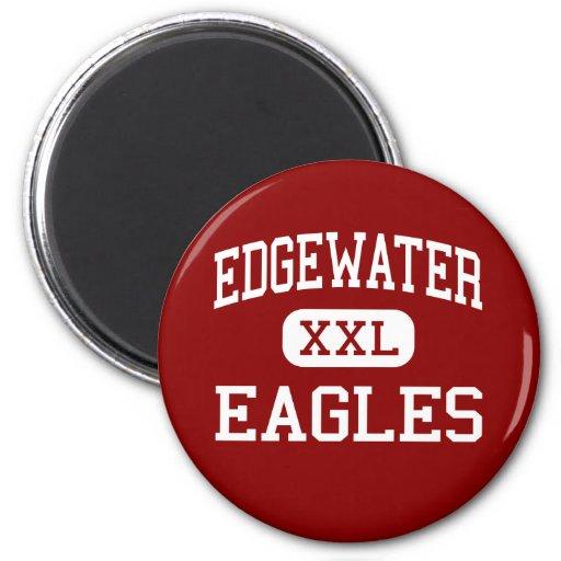 Edgewater - Eagles - High School - Orlando Florida Fridge Magnet