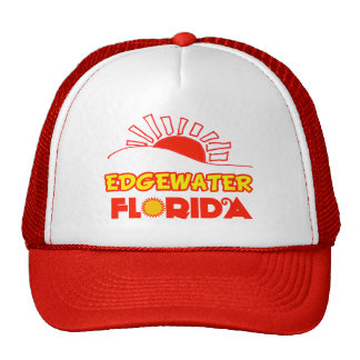 Edgewater, Florida Mesh Hats