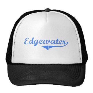 Edgewater Massachusetts Classic Design Trucker Hats