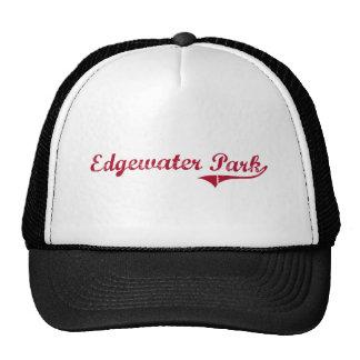 Edgewater Park New Jersey Classic Design Trucker Hats