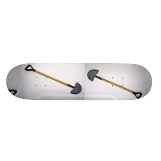 Edging shovel custom skateboard
