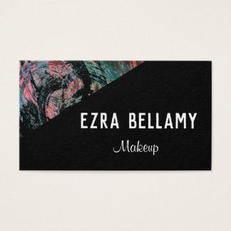Edgy Artistic Accented Customizable Business Card