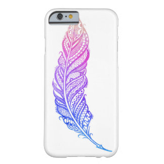 Edgy & Chic Intricate Lace Feather illustration Barely There iPhone 6 Case