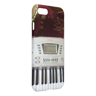 Edgy smart casual and professional piano keyboard iPhone 7 case