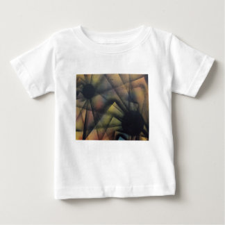 Edgy Spiders Baby T-Shirt