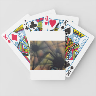 Edgy Spiders Bicycle Playing Cards