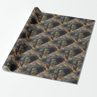 Edgy Spiders Wrapping Paper