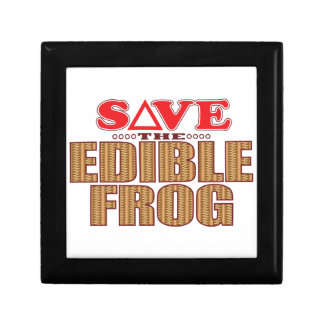 Edible Frog Save Gift Box