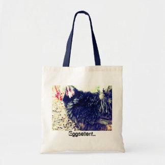 Edie goes shopping tote bags