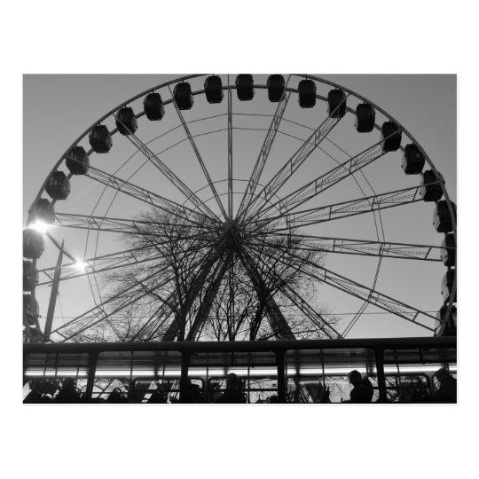 Edinburgh Big Wheel Postcard