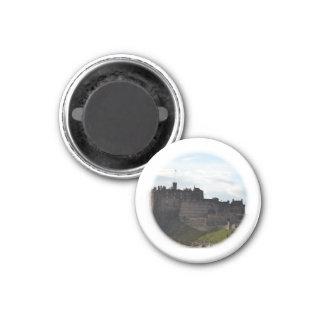 Edinburgh Castle 3 Cm Round Magnet