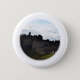 Edinburgh Castle 6 Cm Round Badge