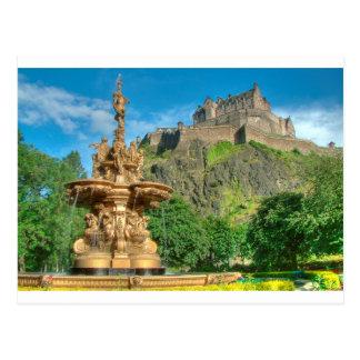 Edinburgh Castle 9082 Postcard