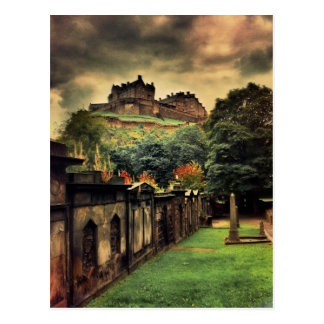 Edinburgh Castle - Antique Style Postcard
