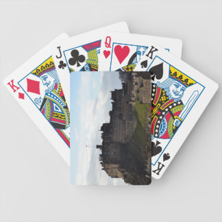 Edinburgh Castle Bicycle Playing Cards