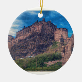 Edinburgh Castle Christmas Ornament