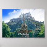 Edinburgh Castle Customise Product Poster