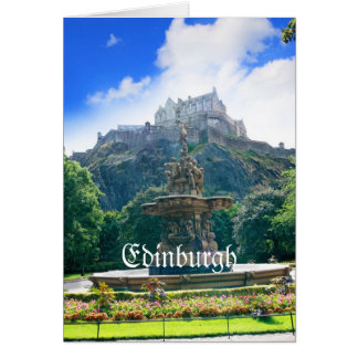 Edinburgh Castle Customize Product Card