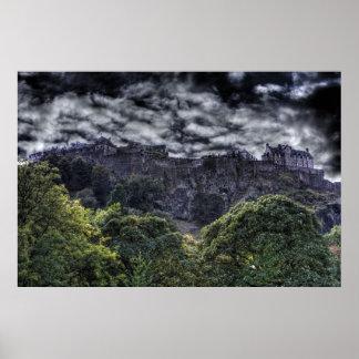 Edinburgh Castle HDR Poster