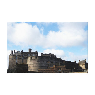 Edinburgh Castle in Scotland Canvas Print