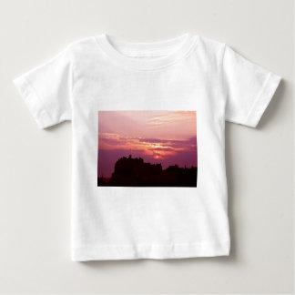 Edinburgh Castle Pink Dusk Baby T-Shirt