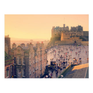Edinburgh Castle Postcard