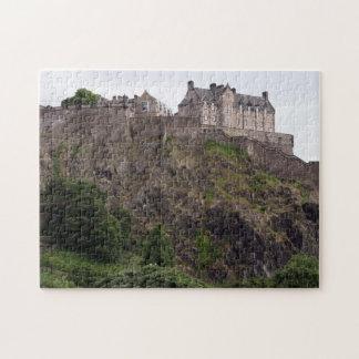 edinburgh castle rock jigsaw puzzle