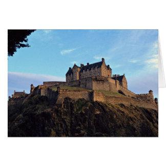 Edinburgh Castle, Scotland Card