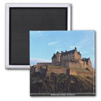 Edinburgh Castle Scotland Fridge Magnets