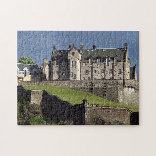 edinburgh castle scotland jigsaw puzzle