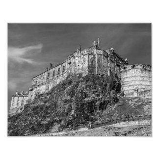 Edinburgh Castle, Scotland Photographic Print