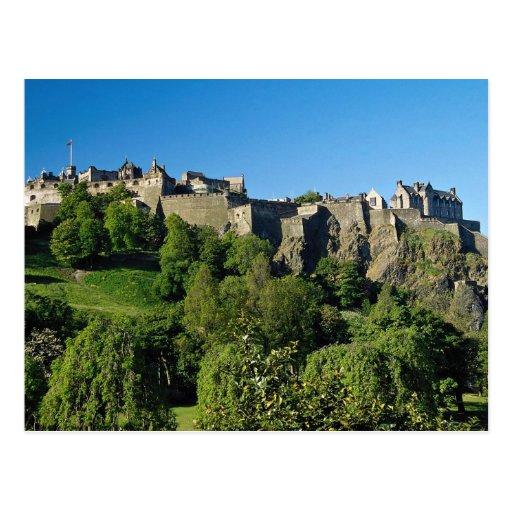 Edinburgh Castle, Scotland Postcards