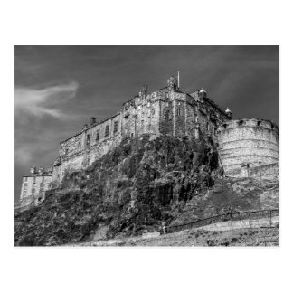 Edinburgh Castle, Scotland Postcard