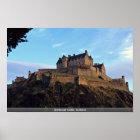 Edinburgh Castle, Scotland Poster