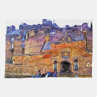 Edinburgh Castle, Scotland Tea Towel