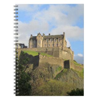 Edinburgh Castle Spiral Note Book