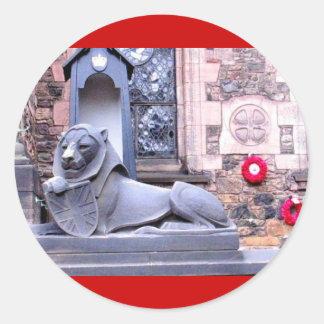 Edinburgh Castle Stickers