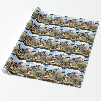 Edinburgh Castle Wrapping Paper