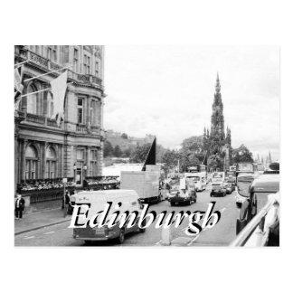 Edinburgh City Scotland vintage postcard