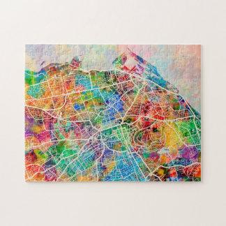 Edinburgh City Street Map Puzzles