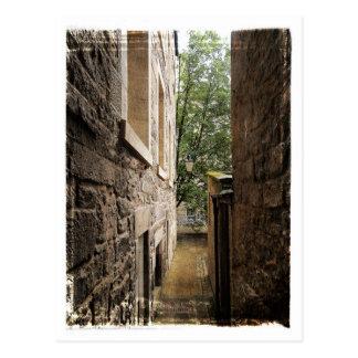 Edinburgh Close Postcard