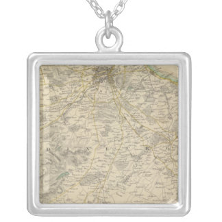 Edinburgh environments silver plated necklace