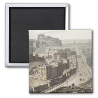 Edinburgh, from Calton Hill, from 'A Voyage Around Magnet