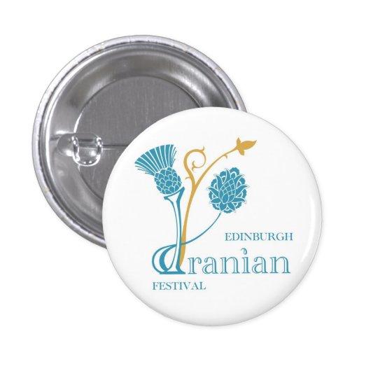 Edinburgh Iranian Festival Badge - Logo White