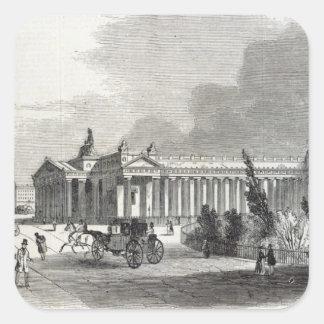 Edinburgh: Royal Institution and Scott Square Sticker