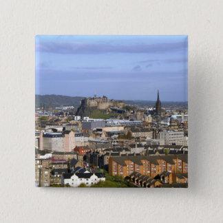 Edinburgh, Scotland. A view overlooking central 15 Cm Square Badge