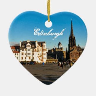 Edinburgh, Scotland Christmas Ornament