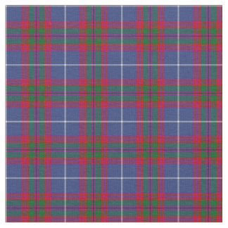 Edinburgh Scotland District Tartan Fabric
