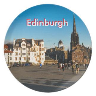 Edinburgh, Scotland Plate