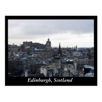 Edinburgh, Scotland Postcard